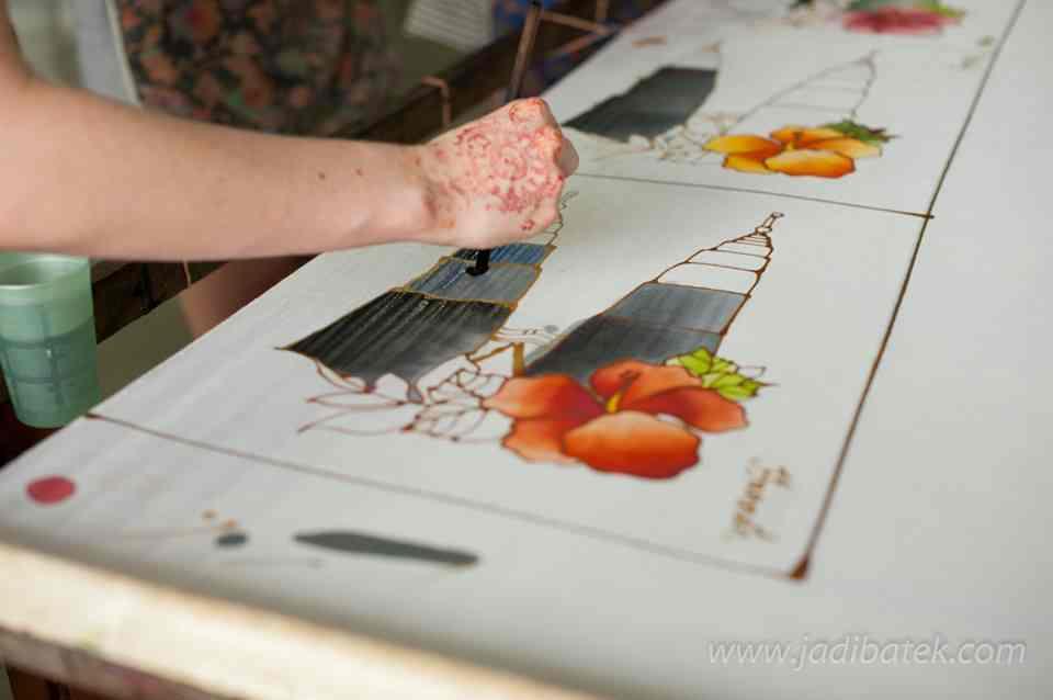 jadi batek painting