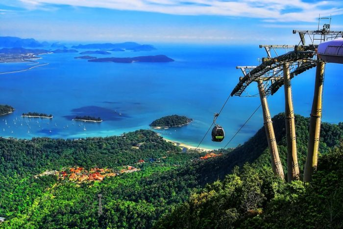 langkawi cable car - skytrail