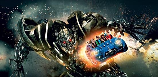 uss singapore transformers ride