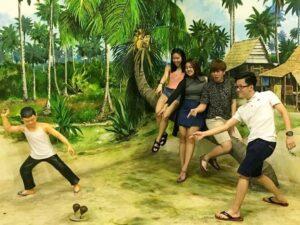 3d trick arts museum penang ticket lets you snap photos with 3d arts