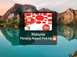 4Gb SIM Card Penang Airport Pick Up for Malaysia