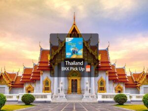 4g sim card data access for travellers to bangkok