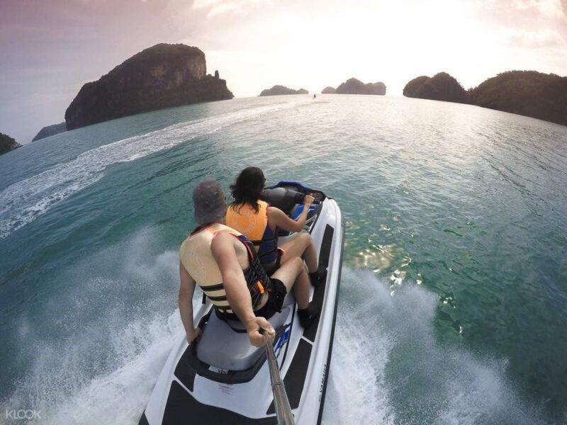 langkawi island hopping tour with jet ski