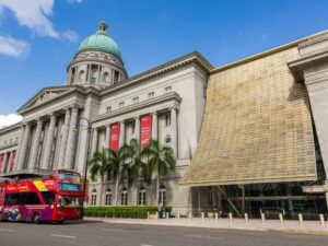 with the National Gallery Singapore ticket lets you see modern paintings from singapore's talented artists