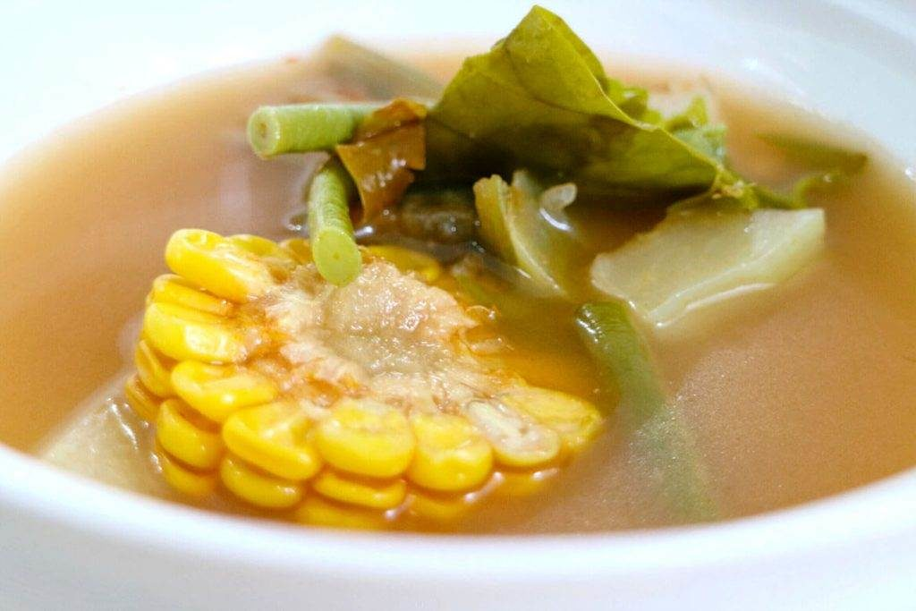 sayur asam indonesian local dish