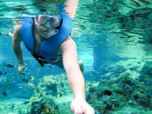 with an adventure cove singapore ticket you can enjoy snorkeling safely in this sentosa water park