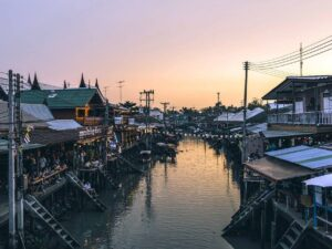 with the amphawa floating market tour you'll get to see the traditional market of the thai people during weekend
