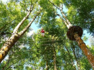 bali tree top walk participant