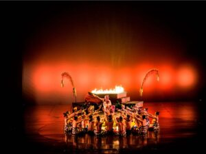 kecak in devdan bali show performance