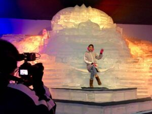 the amazing snow town in the frost magical ice of siam that you can enjoy in pattaya