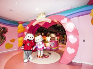 the hello kitty theme park ticket lets you see the japanese theme park yourself in malaysia