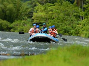 kampar river white water rafting tour perak