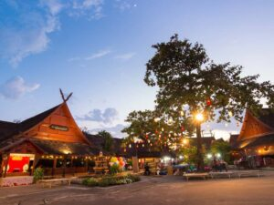 with the khantoke dinner and culture show you get to see the authentic culture of the natives in chiang mai
