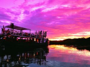 the klias also offers amazing sunset and can be enjoyed during your klias river trip