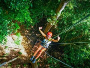 the umgawa zipline adventure ticket in langkawi lets you zipline and try abseiling in the jungle of langkawi