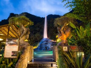 Lost World of Tambun Night Spring Tickets let you enjoy a collection of hot waters around the lost world of tambun theme park