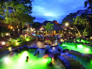 with a lost world of tambun night spa tickets you will be able to enjoy the hot spring pools like this one in this ipoh theme park