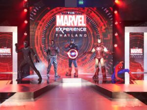 with the marvel experience bangkok ticket you may meet the avengers during your holiday in bangkok