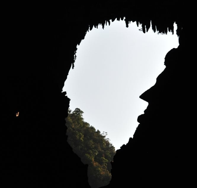 the abraham lincoln in the mulu cave sarawak