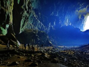 mulu cave tour lets you enter one of the most massive cave in the southeast asia