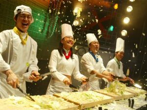wth the nanta cooking show tahiland ticket you'll be able to watch a famous korean musical cooking show during your trip to thailand