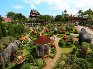 with the nong nooch pattaya ticket you can see this amazing landscape during your trip