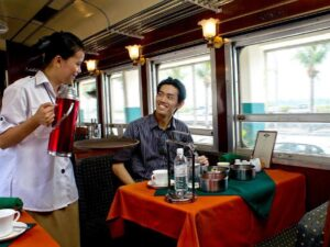 north borneo railway tour includes breakfast served tiffin style