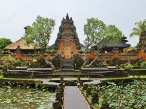 the pura baruan in ubud is one of the temple you may visit during your bali tour