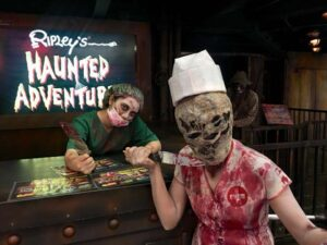 with the ripley's believe it or not ticket you may also get into the haunted adventure if you are brave enough to do so
