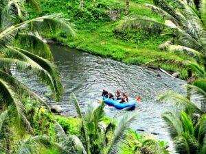 rafting and tegallalang trip in ubud bali