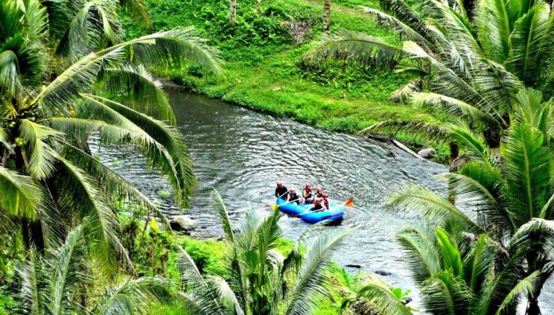 rafting and tegallalang trip in ubud bali