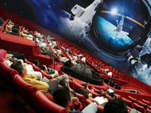 with the science center singapore ticket you'll be able to watch space video on the imax theater