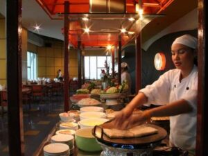 the baiyoke sky high dining at floor 76 and 78 is ampng your culinary highlight in bangkok