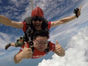 get an absolute time of your life with your pattaya skydiving ticket