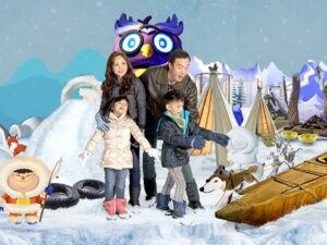 with the snow city singapore ticket you can play snow and feel what it's like to be in a snow town in the tropical country of singapore