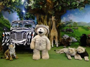 with the teddy bear museum ticket pattaya you'll be surrounded by teddy bears like this