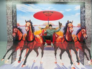 with the trick art museum singapore ticket you get to pose for 3d photos while in the island