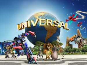 with the universal studios singapore ticket (USS Singapore) you'll have the chance to enjoy a world class theme park in singapore and see cartoon characters and go on roller coaster rides