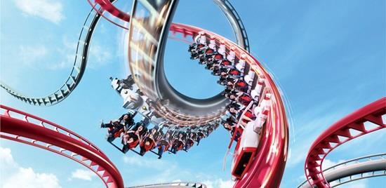 uss singapore battlestar galactica roller coaster