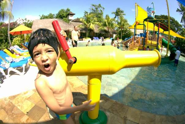 the waterbom bali water park is also suitable for kids
