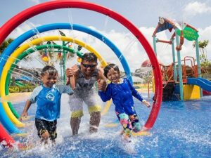 the wild wet water park singapore is not only for kids but also for adults