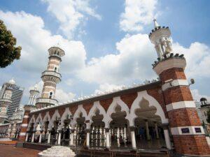 masjid jamek kuala lumpur building