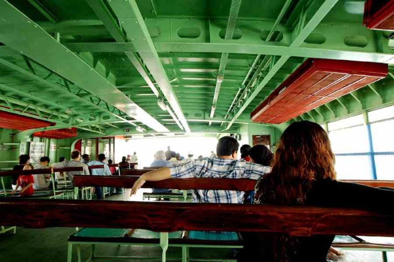 penang ferry interior