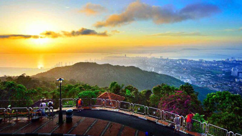 penang hill observation deck