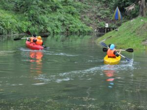 kayak in taman botani shah alam