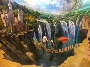 art in paradise bangkok ticket lets you be in realistic paintings