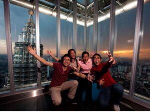 klcc observation deck on petronas tower