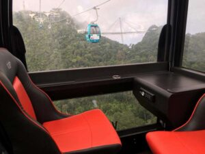 langkawi cable car vip gondola