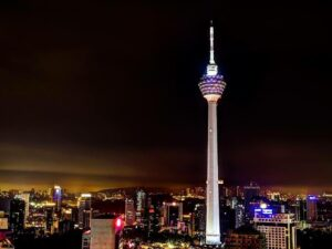 kl tower revolving restaurant dinner ticket admission