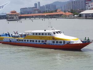 super fast ferry langkawi island to penang